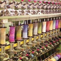 意匠撚糸機械